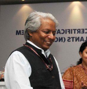 Prof. K. Vijay Raghavan,The Secretary, Department of Science Technology.