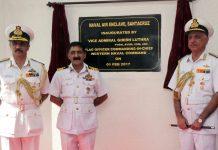 Vice Admiral Girish Luthra, Flag Officer Commanding-in-Chief Western Naval Command inaugurated the Indian Naval Air Enclave, Santa Cruz (NAE Scz) at Santa Cruz, Mumbai