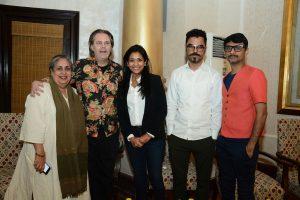 Malvika Singh, Peter Nagy, Aparajita Jain, Thukral and Tagra